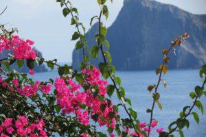 View from Panarea, Aeolian islands