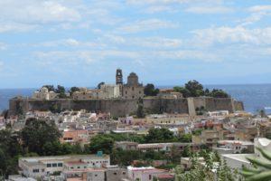 The castle, Lipari, Aeolian islands