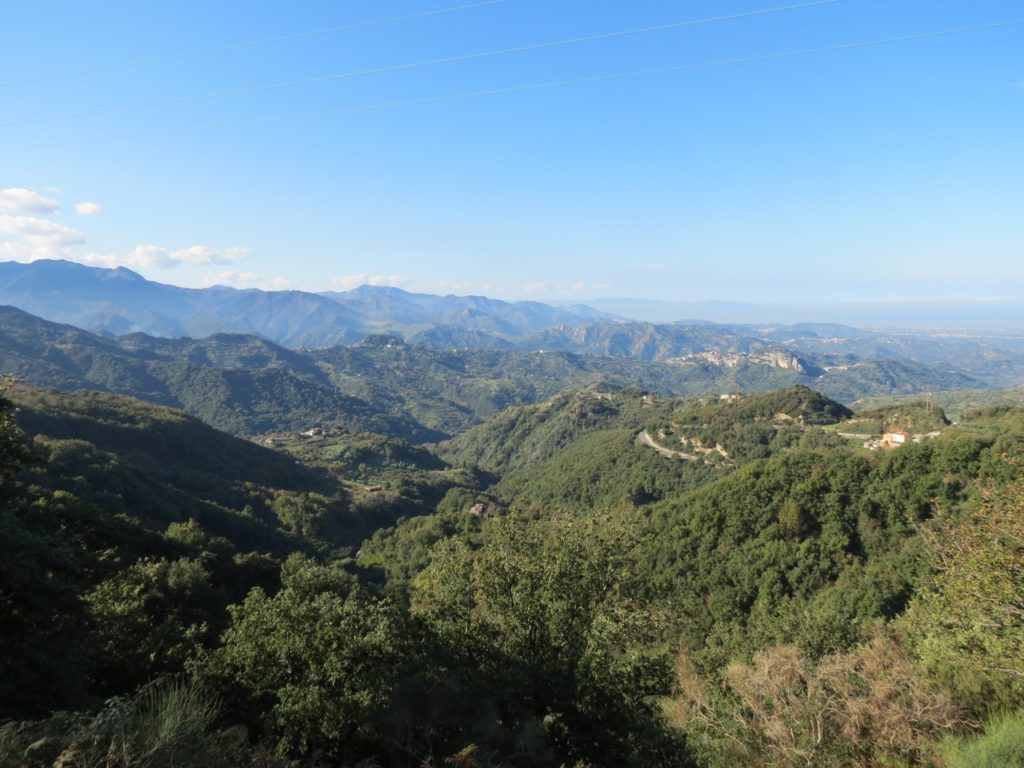 View from the Peloritani