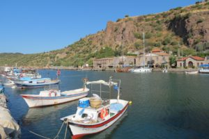 Harbour at Assos, Western Turkey
