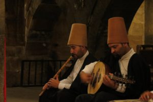 Musicians at a dervish ceremony