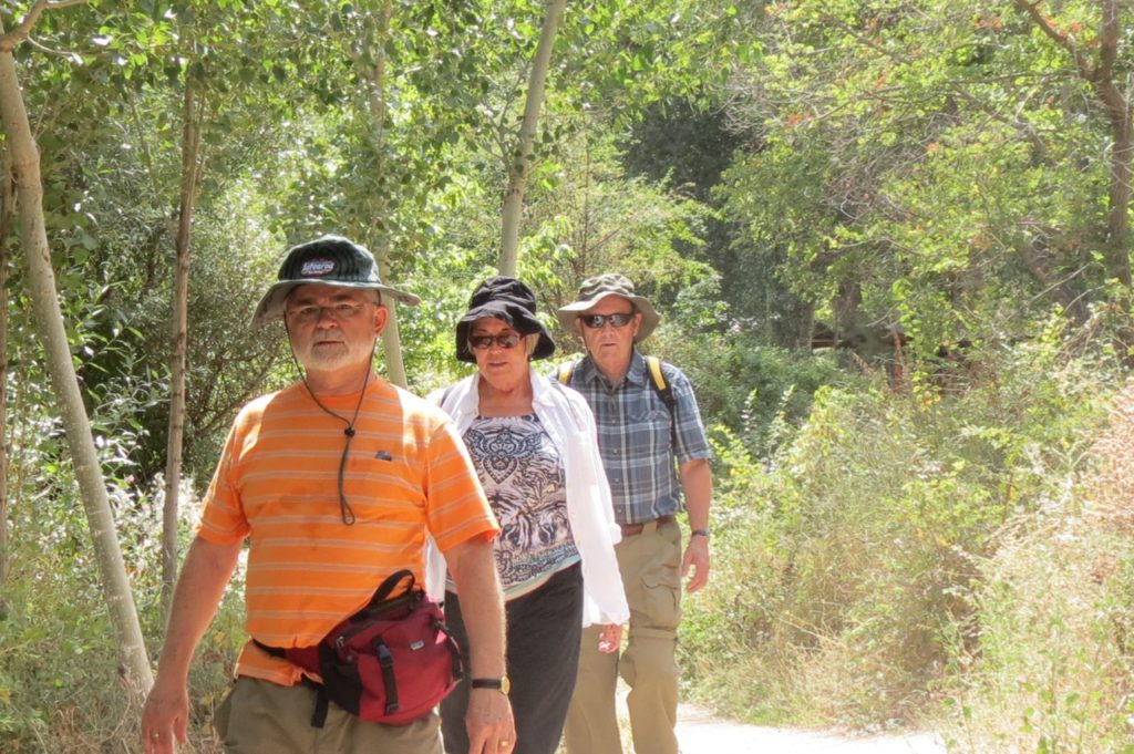 Walking in the Ihlara valley, Cappadocia, Turkey