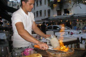 Restaurant in Istanbul, Turkey