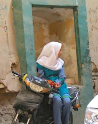 girl in Yazd