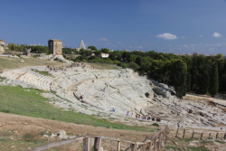 The theatre at Siracusa