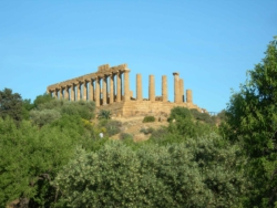 The temple of Hercules at Agrigento